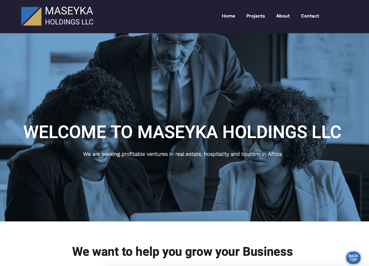 Maseyka Website